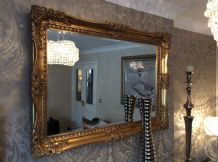 X Large Antique Gold Ornate Decorative Mirror  - Choice of size & Colour - NEW